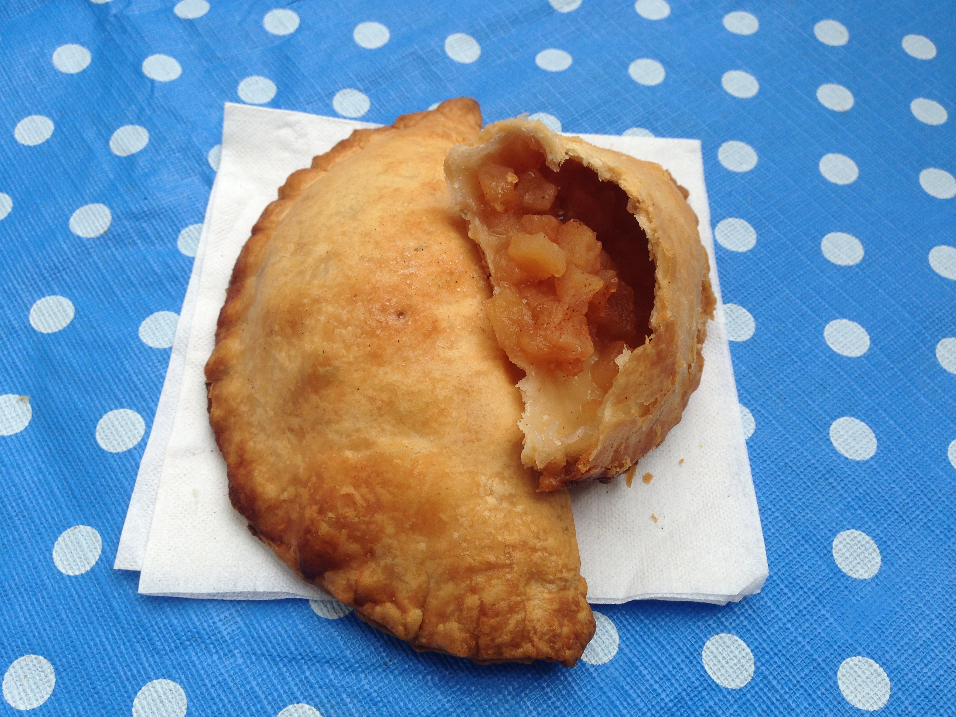 Delicious Apple Turnovers at Allen's Orchard